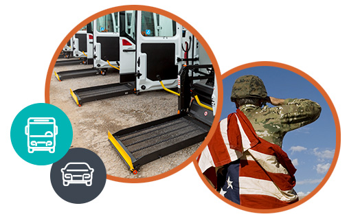 Handicap accessible vans | veteran transport